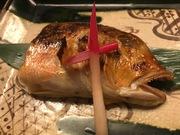 旬の魚の焼き物です。写真は甘鯛。