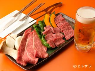 質の高い和牛を囲んでの楽しい宴