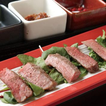 [平日限定ランチ]鮮魚の「なめろう」とお造りの御膳1200円(税込)
