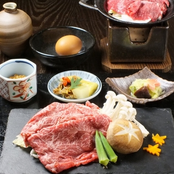 [平日限定ランチ]團斗特選 味噌すきやき御膳 1200円(税込)