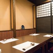 親戚一同が揃う食事会は、個室のプライベート空間で存分に愉しむ