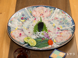 炭火割烹 菊川の料理・店内の画像2