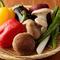鮮やか!日替わりの旬野菜より『こだわり野菜の網焼き』
