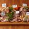自慢の肉前菜を少しずつ全部味わってください!『肉の前菜全部盛り』1人前(ご注文は2人前~)