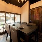 【贅沢空間】大人の雰囲気漂う完全個室