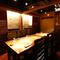 個室は4名席を繋げると14名まで収容。接待などおもてなしに好評
