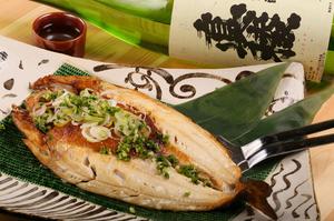 自家製味噌でアツアツを『利尻島のほっけのちゃんちゃん焼き』
