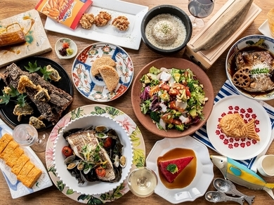 ひと手間、ふた手間かけ、鮮魚の旨みを最大限引き出した『Kaiのお造り盛り合せ』