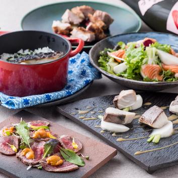 【冬の宴会】醸すの冬を楽しむ『柚子塩麹鍋コース』