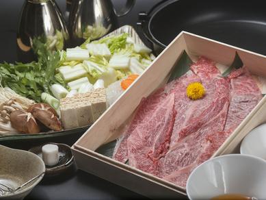 風味豊かな肉の味わい『前沢牛 特選すき焼き 一人前 150g』