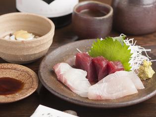 播磨灘の豊かな海で水揚げされた鮮度のよい魚介