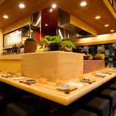 東北郷土料理の躍動感、和酒の温かみは大人のデートスポットに