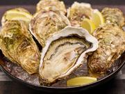 全国のさまざまな産地から、そのとき一番美味しいカキを仕入れ提供する一品。カキ独自の濃厚な味わいが口の中で広がるので、季節を問わず牡蠣を楽しみたい人におすすめです。