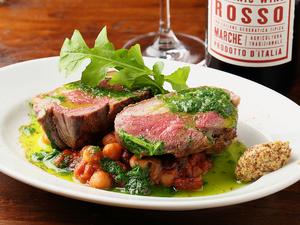 旨みが強くて柔らかい『オーストラリア産ラムランプ肉のグリル』