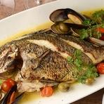 本日の鮮魚料理(アクアパッツァ、グリル、ポワレetc)