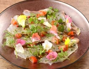 『豚ロースと野菜のロースト~野生ルッコラと西洋わさびキャベツソースで~』