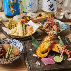 料理長こだわりのお造り盛合わせや新鮮な鯛しゃぶなど旬と贅沢をご堪能いただく豪華宴会コース!
