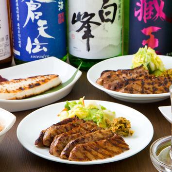 ◆牛たん4000円コース◆ 9品 120分飲み放題付