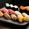 その日仕入れの旬の鮮魚で本格鮨が味わえる『おまかせ握り 特上』