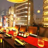 ☆新宿の街並みを見ながら極上の一夜に☆