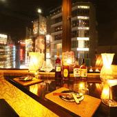 贅沢な気分で2人の時間を満喫できる、新宿のおしゃれな美空間