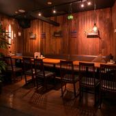 おしゃれな料理と空間に気分盛り上がる、プライベートパーティー