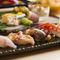 熟練の板前が握る本格寿司
