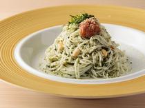<ITALIAN>そうめんだからこそ、和の美味しさが生きる『大葉ジェノベーゼそうめん』