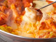 とろ~りチーズに甘辛いお肉を絡めて!『チーズタッカルビ』