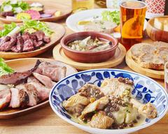 メインは埼玉のおいしい豚肉。肩ロースを豪快に焼きます!