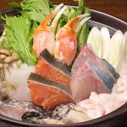 燻製岩塩の和牛オーブン焼きなど、新鮮な肉・魚・野菜を使った燻製料理が目白押しな宴会コース。