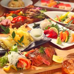 創作和食の風味豊かな料理。手間を惜しまずじっくり仕込むことで、いつもの料理を美味しく引き立てます。