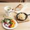 フレッシュな野菜が食べ放題『新鮮!農家直送野菜のチーズフォンデュ』