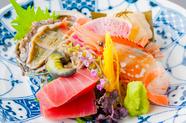 新鮮な北海道の海の幸が一皿に、食材の一番美味しい時期を逃さない『造里』