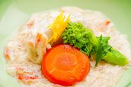 京野菜と北海道産の生湯葉とズワイガニが織りなす、味のハーモニー『蓋物』