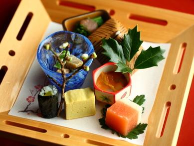 お皿の上で煌めく、旬の味わいを楽しむ『前菜』