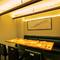 パーテーションで仕切られた個室は接待や会食などにおすすめ