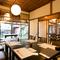 お座敷やテーブル席の多彩な個室空間を備え、蔵改装の完全個室も