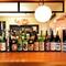 県内の蔵元や日本全域の酒蔵から選りすぐる「日本酒」