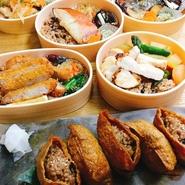 もちもちして香ばしい寝かせ玄米-酵素玄米-お弁当は、免疫力UP!健康的に美味しく食べれるのが魅力です。 平日/11時30分~14時30分/16時00分~22時00分 土曜/16時00分~21時00分