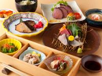 接待や会食の席にふさわしい、旬と贅を同時にいただく『膳』