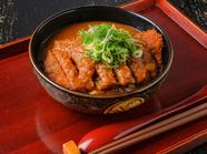 和風出汁のカレーが絶品『カレーかつどん(カツ1枚・和風カツカレー辛口)』