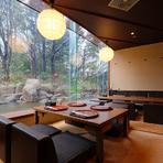 梅田スカイビルは、言わずと知れた観光名所の1つ。空中庭園で大阪の街を一望してから、地上の庭園を眺められる【新和食 みやけ】で美味しい和食を楽しむのもおすすめ。この場所ならではの高低差デートができます。