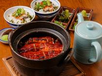オーダーが入ってから土鍋で炊き上げるご飯と、ひと手間かけた鰻を味わう『鰻ひつまぶし』