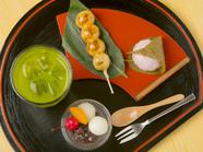 芭蕉庵おすすめの和菓子を3種類楽しめる『おまかせおやつセット』