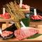 美しいサシが特徴的な黒樺牛の、入手困難な特選部位を味わう