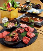 国産黒樺牛を使用したコース料理(5000円・7000円・10000円)