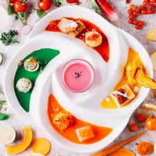 """[ランチ前菜]""""少しづつたくさん""""が楽しめる身体の中から健康に美しくなる手作りデリ8種プレート"""