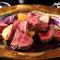 特選黒毛和牛(花乃牛)のグリル トリュフ風味の赤ワインソース