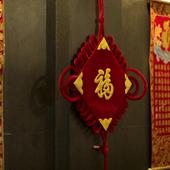 店内のところどころに飾られた小物が中国情緒を演出